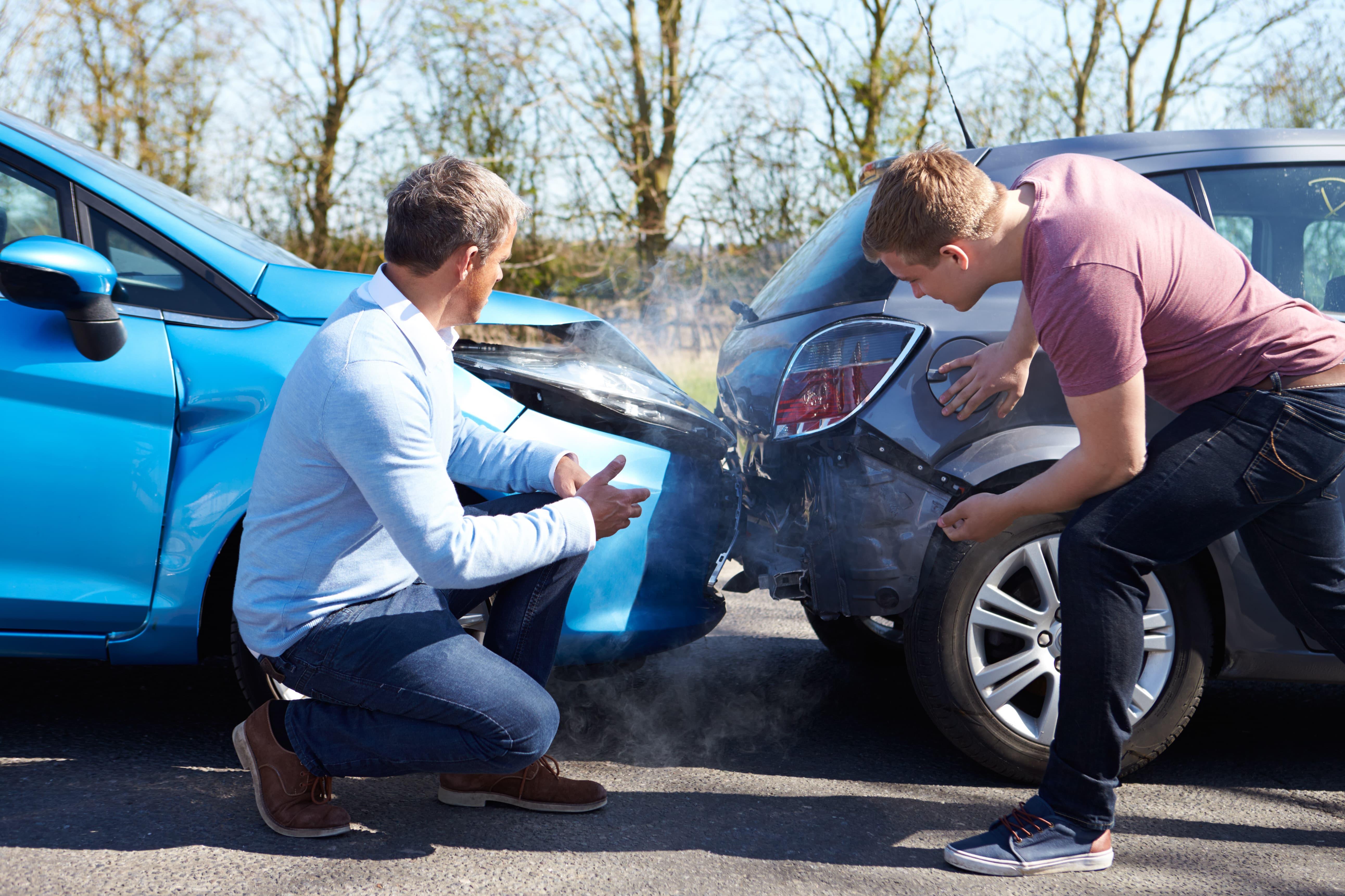 Collision, crash, cars, damage, car accident