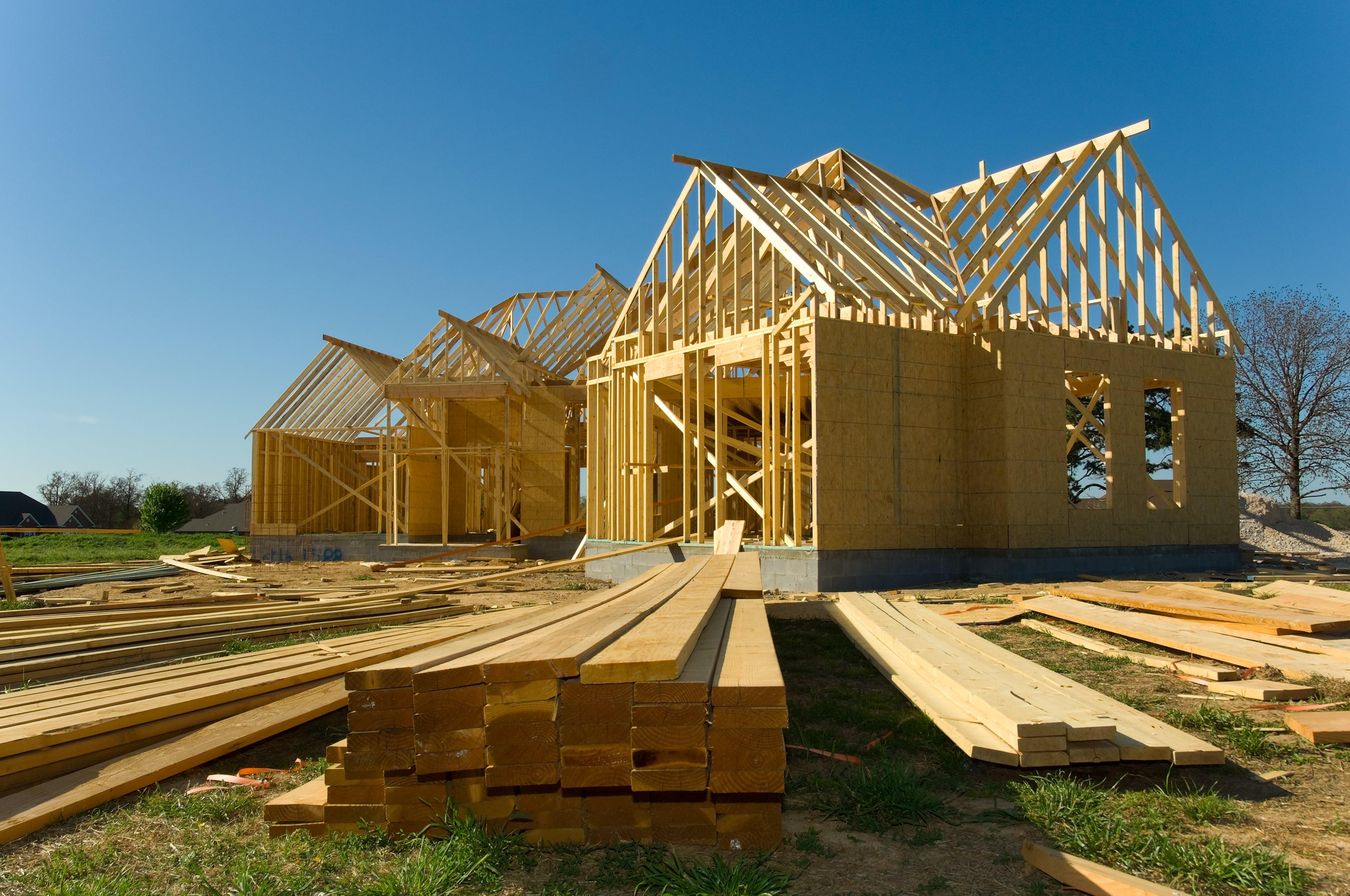 Custom Home, Building, Wood
