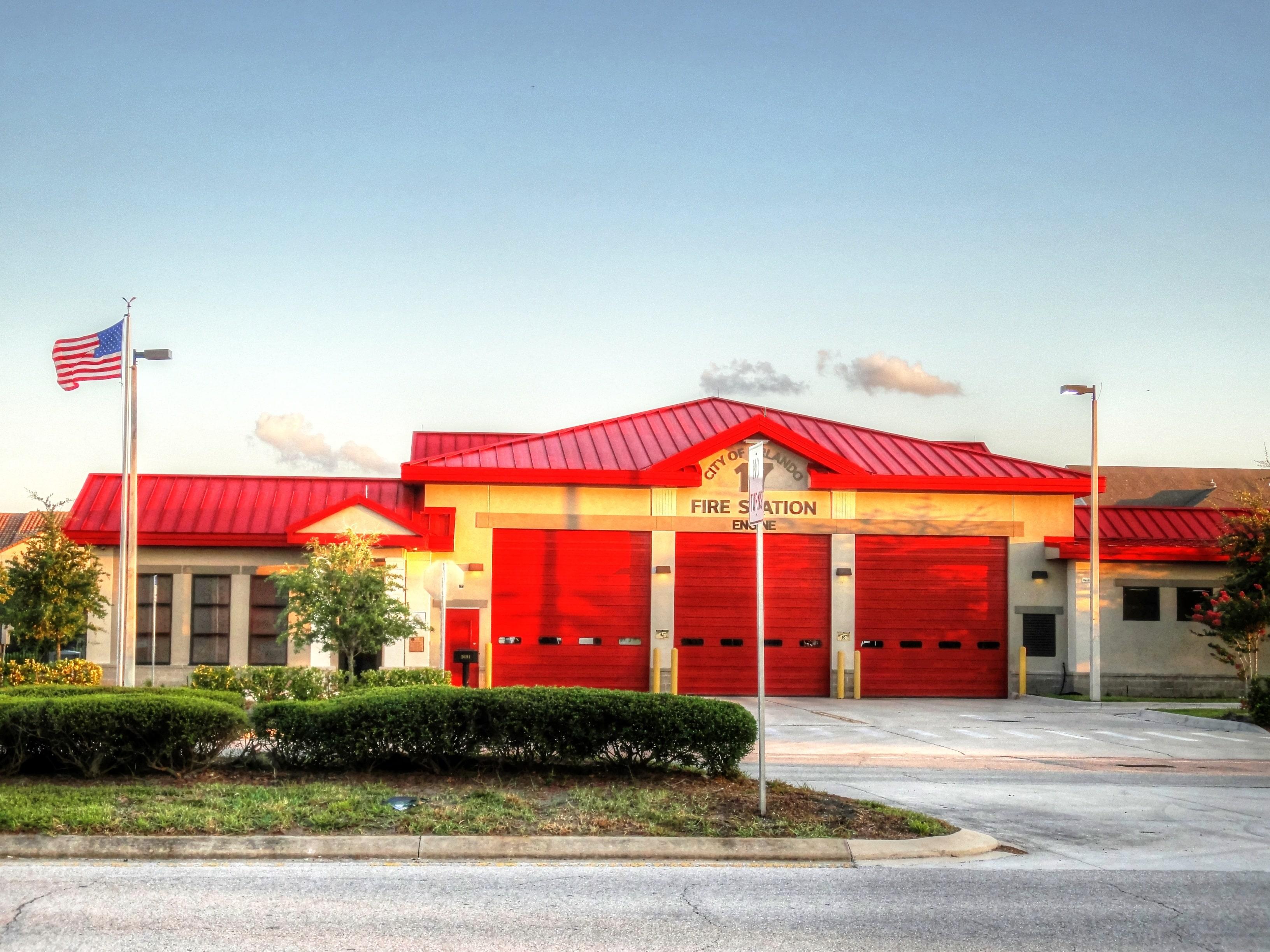Fire station, fire department