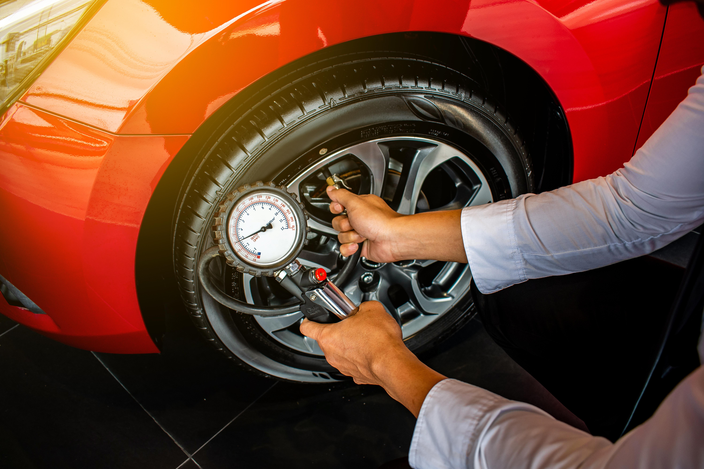 Tire Pressure, Pressure Gauge, Tire, Car Maintenance