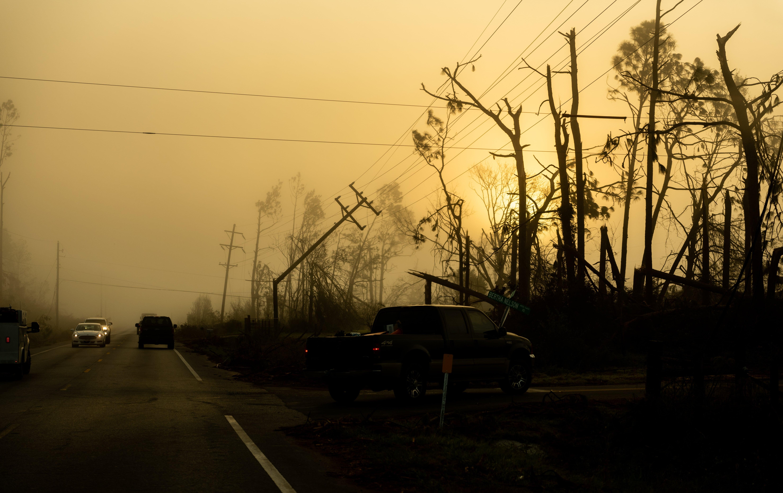 Severe Weather, Power Line Damage, Storm Damage
