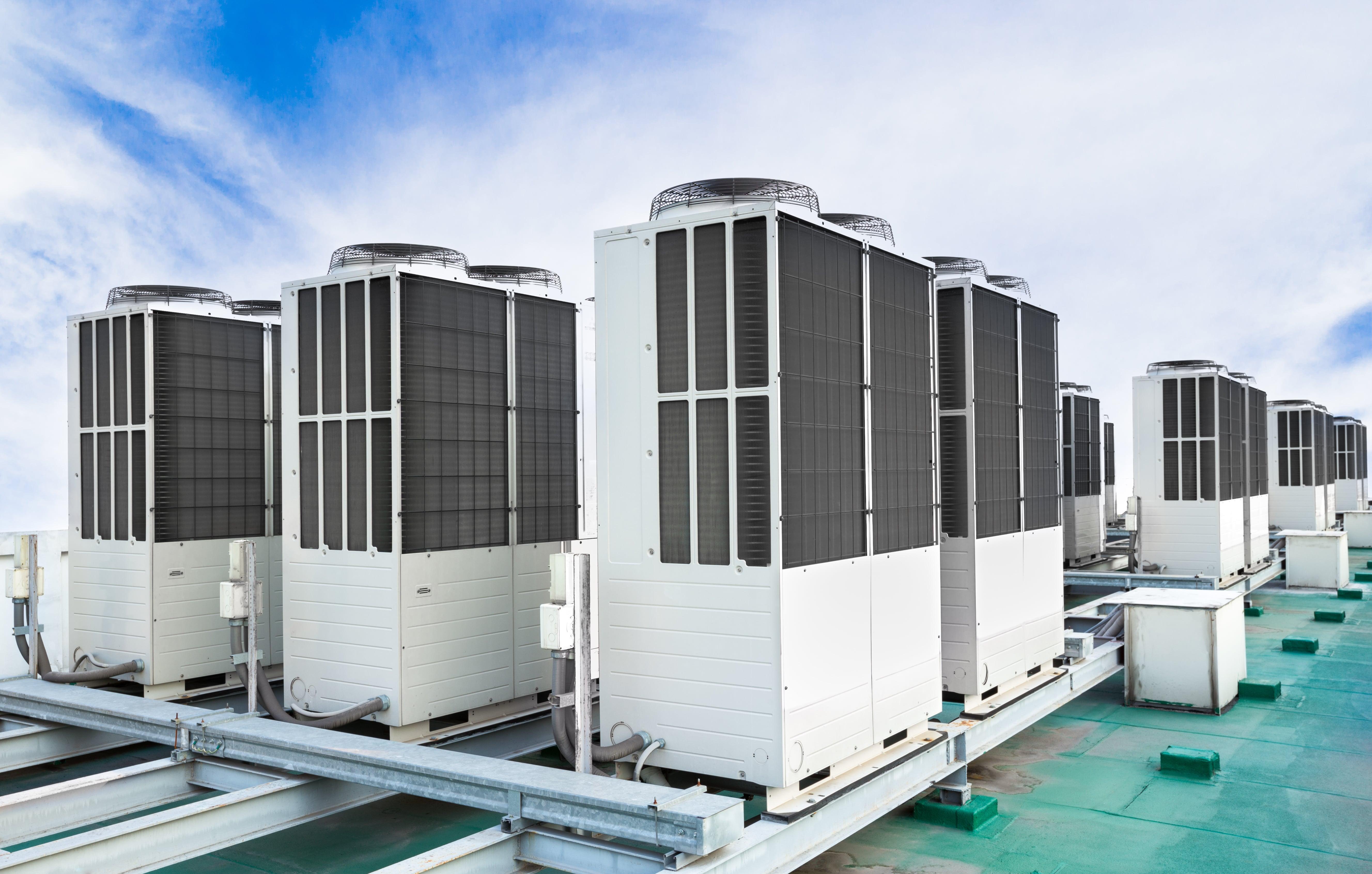 HVAC Units, Roof