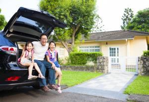 Road Trip, Family, Car, Trunk