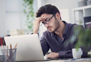 Fatigue, Work, Laptop