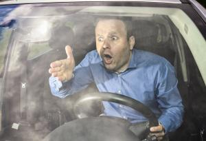 Road Rage, Upset, Driving Safety