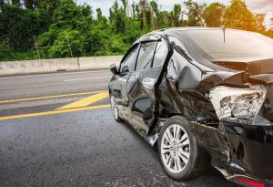 Totaled Car, Car Accident, Vehicle Damage
