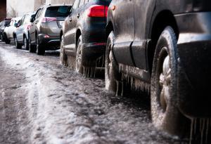 Slush, Parked Cars,