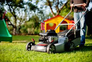 At Home, Curb Appeal, Mowing, Yard Work, Lawn Care, Lawnmower Safety