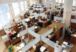 Workplace, Cubicles, Office Environment