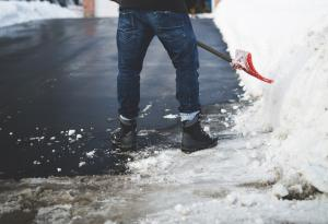 Shoveling, Snow, Winter Tips