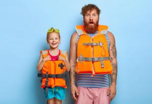 Boating Safety, Life Vest, Summer