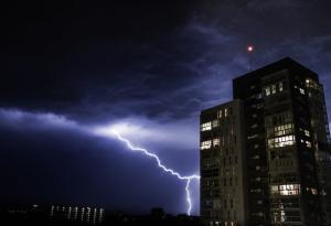 Severe Weather, Thunderstorms, Storm Approaching, Rain, Lightning Strike