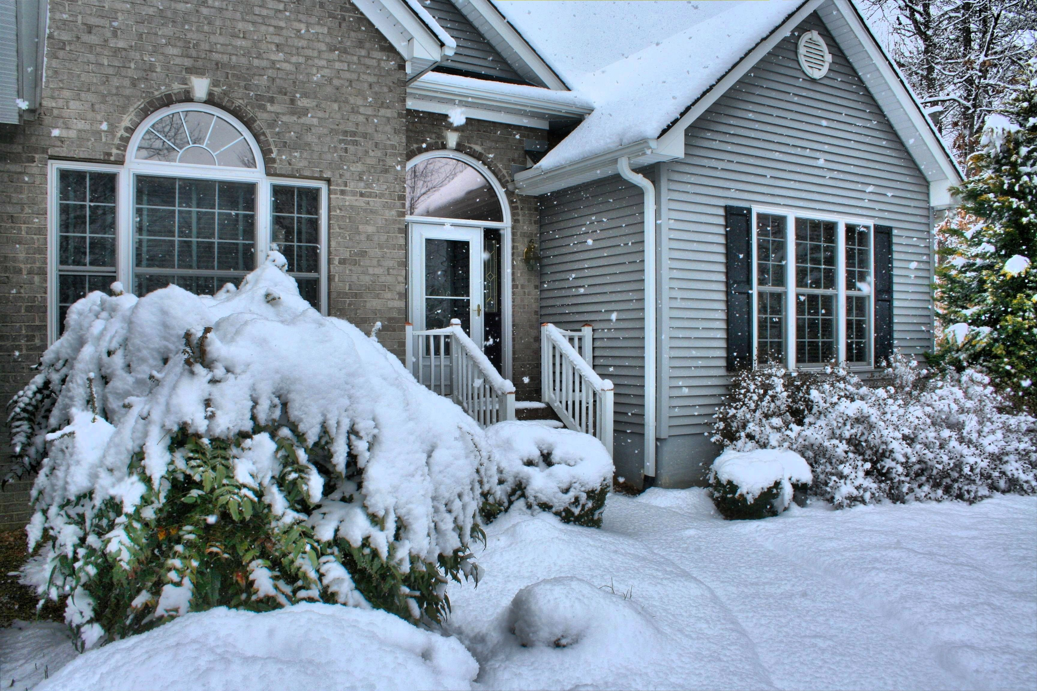 Snow, Winter, Home, Winter Tips